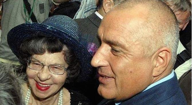 Борисов поздрави Стоянка Мутафова за рождения й ден