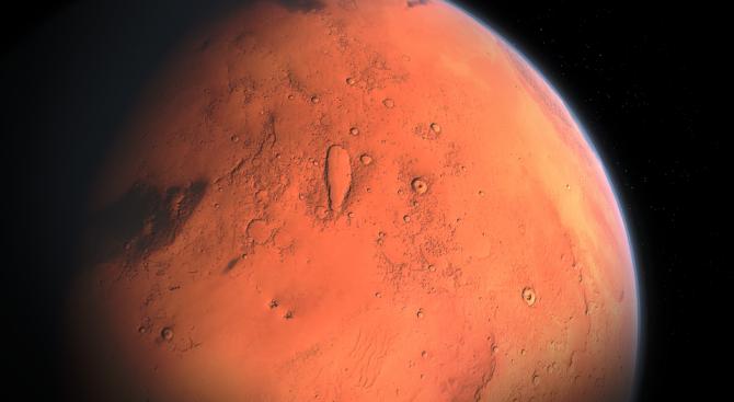 НАСА показа нови впечатляващи кадри от Марс (видео)