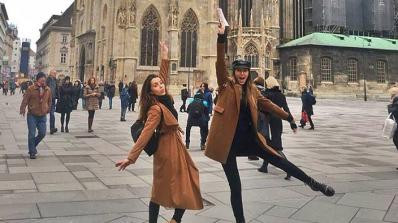 Александра Богданска празнува рожден ден без Дани