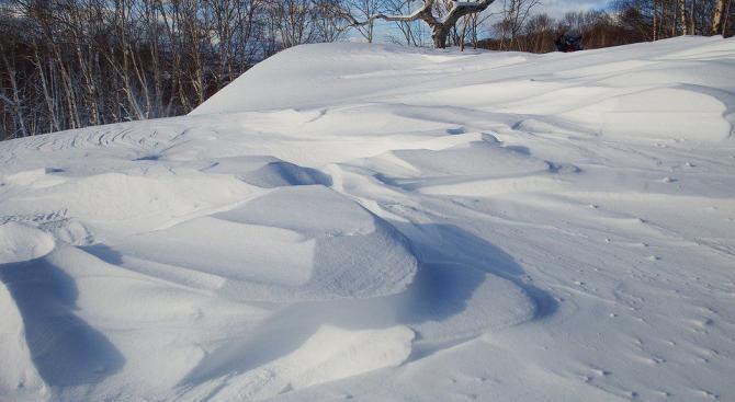 Снегът е безопасен за ядене, ако не е на повече от половин ден