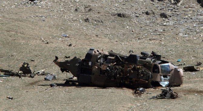 Турският боен хеликоптер е катастрофирал поради техническа причина