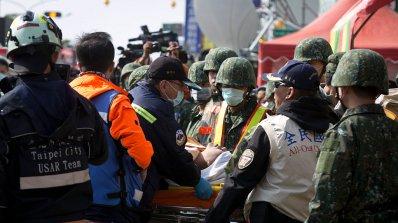 МВнР: Няма информация за загинали и пострадали българи при земетресението в Тайван