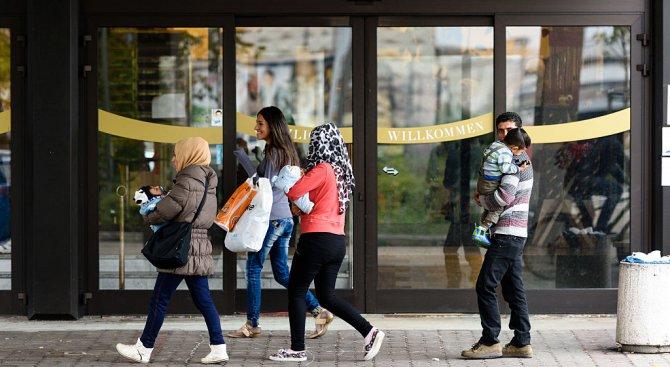 Молбите за убежище в Германия намалели с 15% през януари