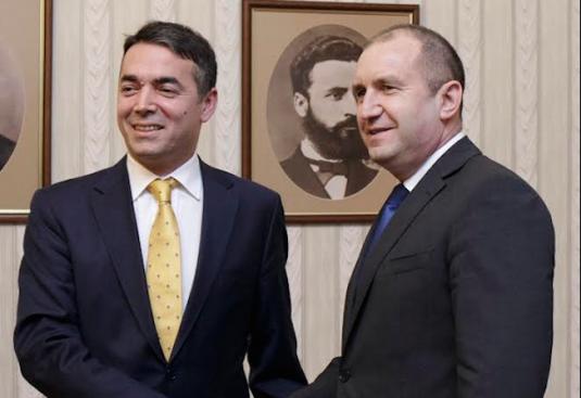 Румен Радев се срещна с министъра на външните работи на Република Македония