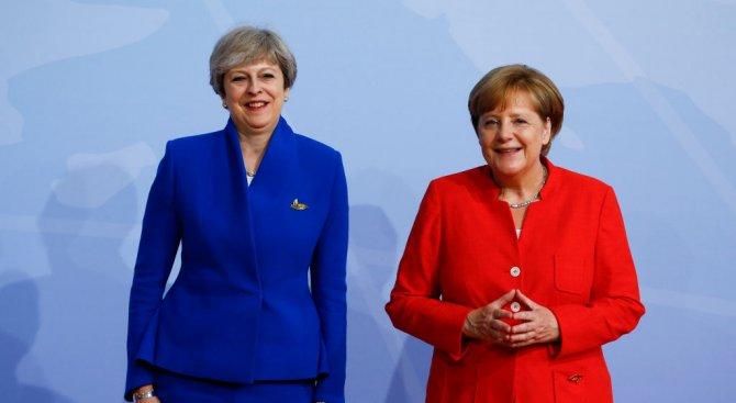Тереза Мей се среща в петък с Ангела Меркел