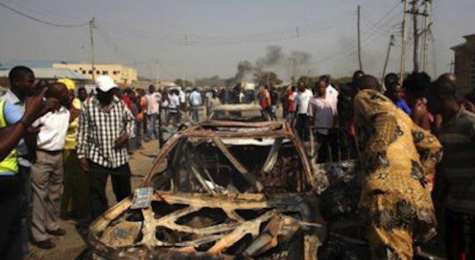 Трима атентатори самоубийци отнеха живота на 18 души в Нигерия