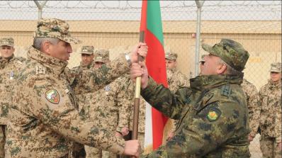 35-ият български военен контингент прие изпълнението на задачите в мисията на НАТО в Афганистан