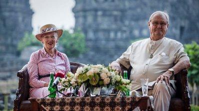 Почина съпругът на датската кралица
