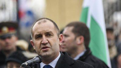 Държавният глава Румен Радев получи поздравителни писма по повод Националния празник