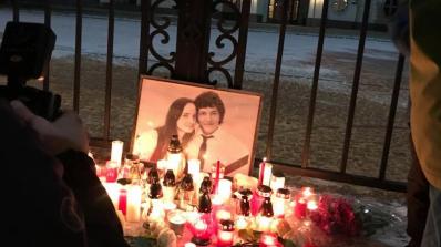 Убитият словашки разследващ журналист бе погребан днес в сватбения си костюм