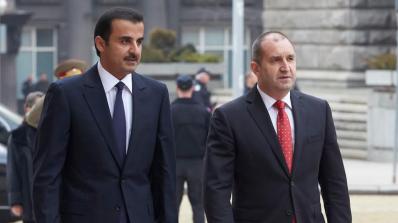 Радев и емирът на Катар обсъдиха перспективите за насърчаване на двустранното инвестиционно сътрудни
