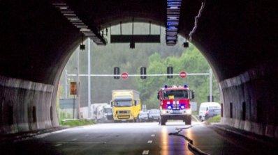 """Възстановиха движението в тунела """"Железница"""""""