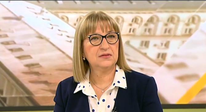 Цецка Цачева: Страховете от предложените промени в Наказателния кодекс са неоснователни
