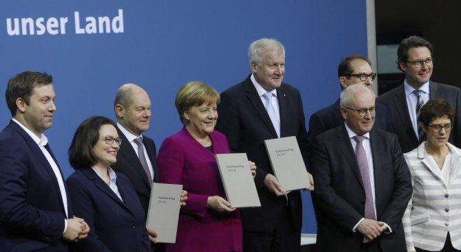 Новият състав на правителството в Германия започва работа днес
