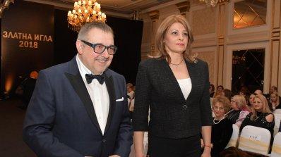 Десислава Радева уважи наградите на Академията за мода (снимки)