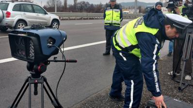 Нова система за контрол на скоростта по пътищата работи в област Видин
