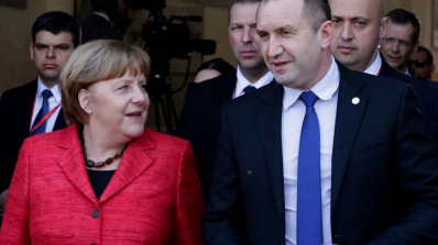 Румен Радев прати писмо на Ангела Меркел