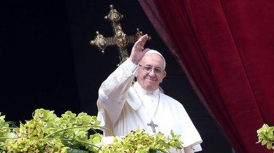 Папа Франциск призова за мир в Светите земи