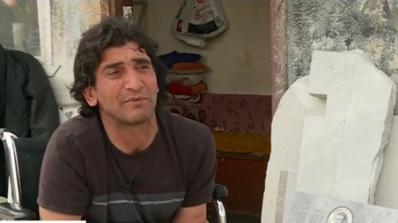 Добри хора спасиха инвалид, останал без дом