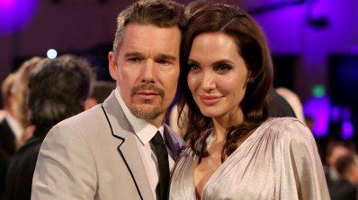 Анджелина Джоли клати втория брак на Итън Хоук