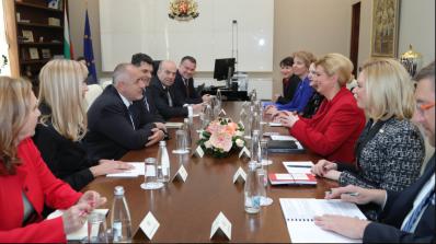 Бойко Борисов се срещна с президента на Хърватия Колинда Грабар-Китарович