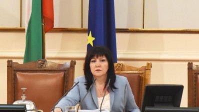 Караянчева изрази съболезнования към семействата на загиналите при катастрофата