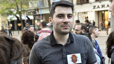 Протести в София и Добрич в подкрепа на Желяз Андреев (снимки)