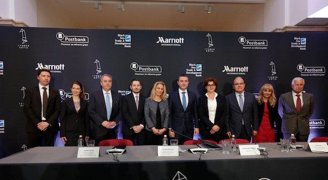 Черноморска банка за търговия и развитие (ЧБТР) и Пощенска банка подкрепят градското развитие и тури
