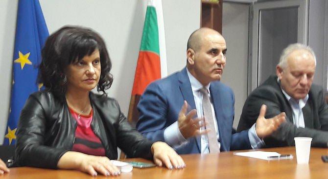 Цветанов: БСП искат криза, за да влязат във властта чрез служебен кабинет (снимки)