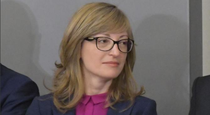 Екатерина Захариева ще председателства заседание в Люксембург