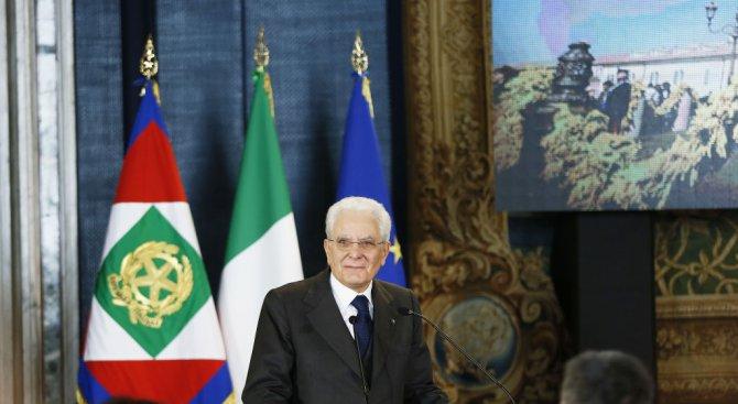 Италианският президент може да назначи посредник за излизане от кризата в преговорите за ново правит