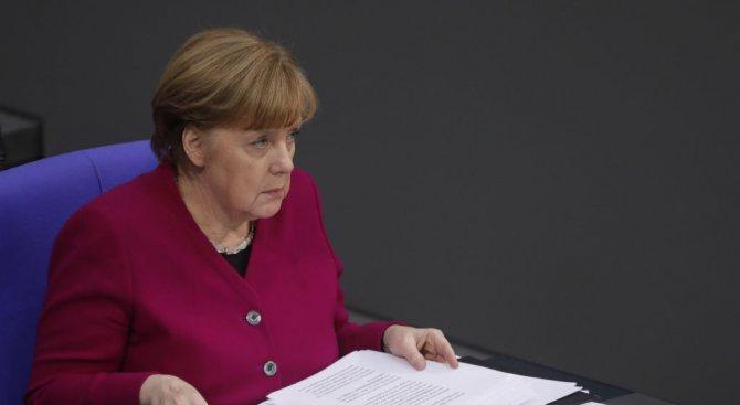Меркел: Русия носи съвместна отговорност за химическото нападение в Сирия