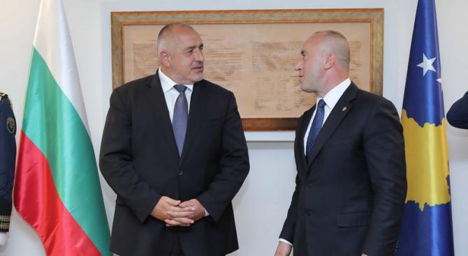 Премиерите Борисов и Харадинай обсъдиха развитието на двустранните икономически връзки между Българи