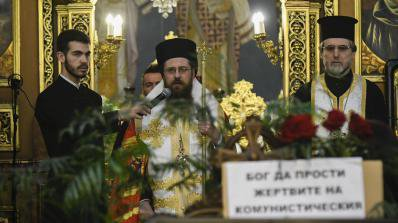 "Белоградчишкият епископ Поликарп отслужи панихида в памет на загиналите при атентата в ""Св. Неделя"""