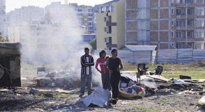 Две ромски фамилии от Розино отново се замеряха с камъни и стъклени бутилки