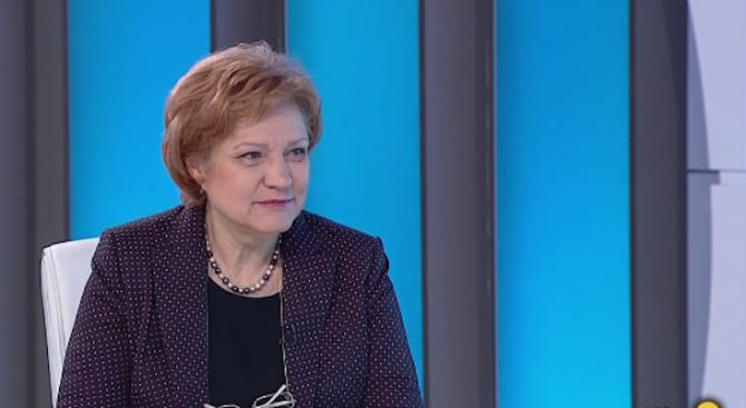 Менда Стоянова: В момента има повишаване на инвестициите в реалната икономика