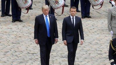 Исторически подаръци ще си разменят Еманюел Макрон и Доналд Тръмп