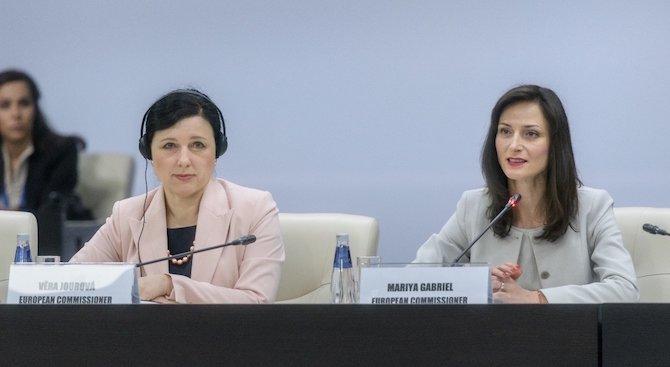 Мария Габриел: Цифровите технологии имат потенциал да допринесат за по-доброто качество на храните