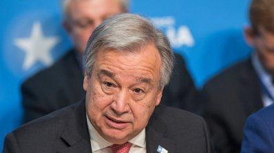 Генералният секретар на ООН обеща подкрепа за по-нататъшни разговори между двете Кореи