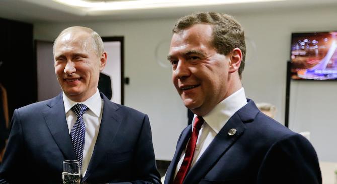 Путин предложи отново Дмитрий Медведев за премиер на Русия