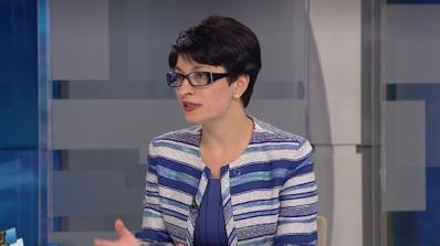 Десислава Атанасова: БСП са креслива, но не и алтернативна опозиция