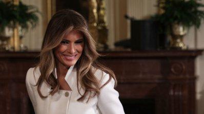 """Мелания Тръмп представи програмата си за децата """"Бъди най-добър"""""""