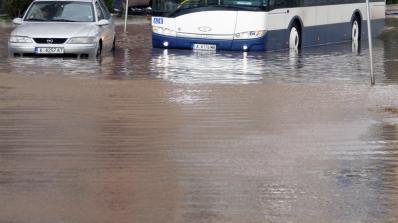 Над 100 сигнала са получени за наводнения в Пловдив