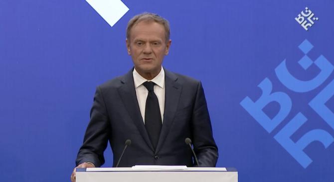 Доналд Туск: Няма друго бъдеще за Западните Балкани освен ЕС (видео)