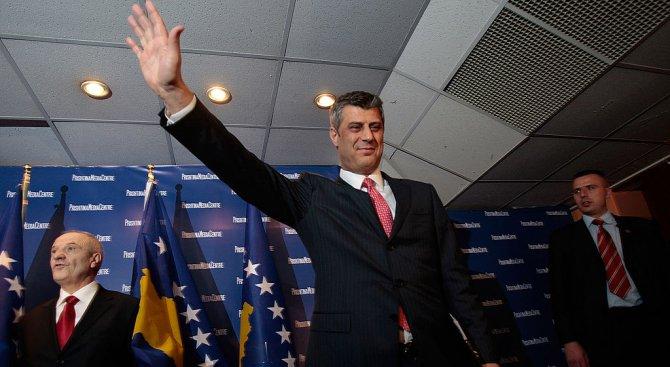 Хашим Тачи: И Косово, и Сърбия ще спечелят от двустранно споразумение