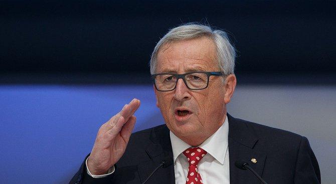 Юнкер ще настоява в София за обща позиция на ЕС по ядрената сделка с Иран и по американските санкции