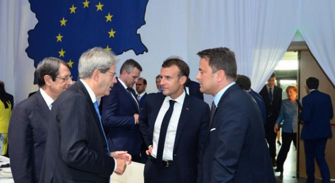 Лидерите на страните от ЕС са единни по иранското ядрено споразумение и международната търговия
