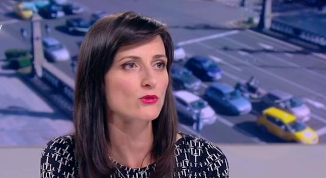 Мария Габриел: Позицията на правителството в защита на превозвачите категорично не е закъсняла