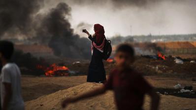 8-месечно бебе е сред жертвите на сблъсъците вчера по границата на Газа с Израел