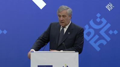 Таяни предлага 10 млрд. евро за европейски инвестиции в Западните Балкани (видео)